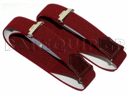Elastic Arm Bands Burgundy